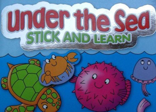 high-quality Art colouring and sticker book in English
