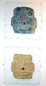 Olmec Masks by Di Pickering