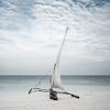 Dhow fishing boat, Zanzibar