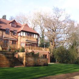 Family Garden New Build House Surrey Kevin Scully Garden Design