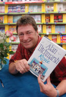Alan Titchmarsh booksigning, Reading.