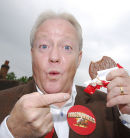Keith Chegwin promotes a Wagon Wheel event, Buckinghamshire.