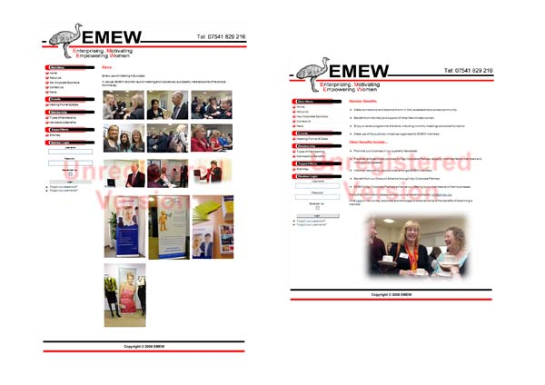 Live event photography for Enterprising Motivating Empowering Women (EMEW) business network group launched in January 2009.