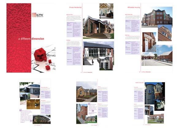 Architectural photography for Kent Porter Warren's 2009 brochure.