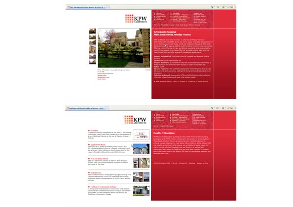 Kent Porter Warren Architects' website -  many of the photographs taken by i2image.