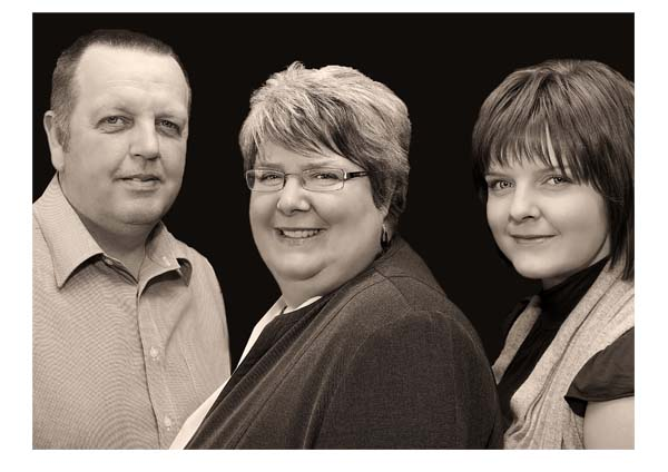 Attractive business portraits of the family management team at BDI Consultants (2).