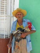 Man with Cockerel