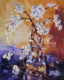 Almond blossom still life