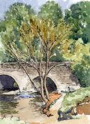 Bridge at Wolvercote near Oxford