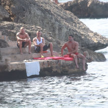 Talafornia cast members Mallorca