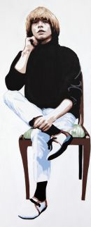 BRIAN JONES - SITTING.