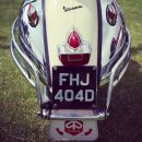 CHROME VESPA BACK END