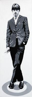 PAUL WELLER - TARGET SUIT.