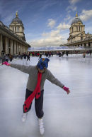 Skating at Greenwich