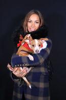 Leona Lewis and her Chiuaua
