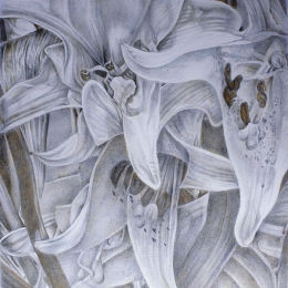 Drawing on prepared paper in silverpoint and goldpoint