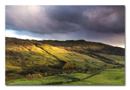Wansfell Evening Glow