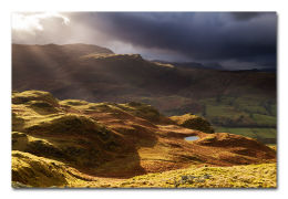 Brooding Borrowdale From High Rigg
