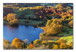 Loughrigg Tarn Autumn Dawn