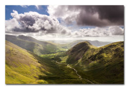 Wasdale Head And Mosedale From Pillar