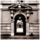 Entrance, Trinity hall