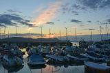 Pre-dawn light, Lyme Regis