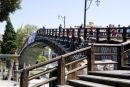 Wooden bridge in Venice