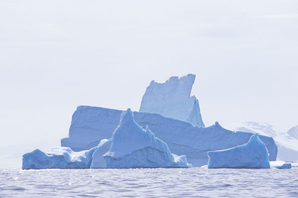 Blue Bergs of Pleneau