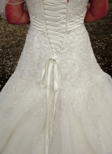 The dress detail