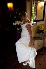 The brides final adjustment