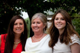 Daughters with mum