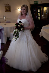 The bride and the dress