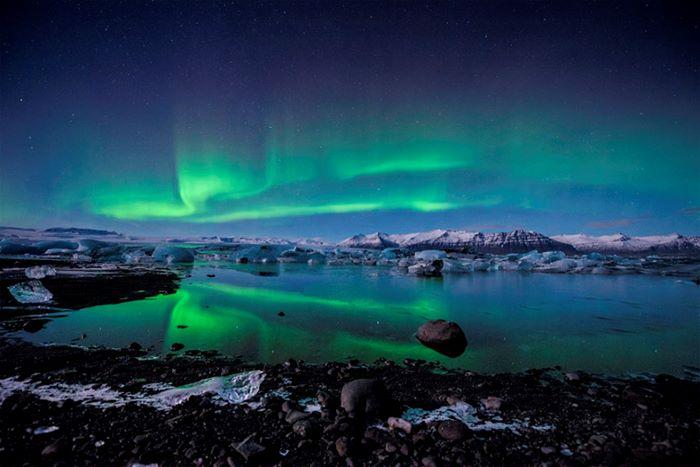 Icelnad Nothern Lichts