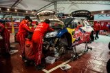 Wales Rally GB WRC Citroen Racing Service Area