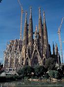 The superb Sagrada Familia.