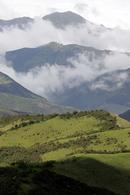 View across the Andes from the Yanacocha Reserve